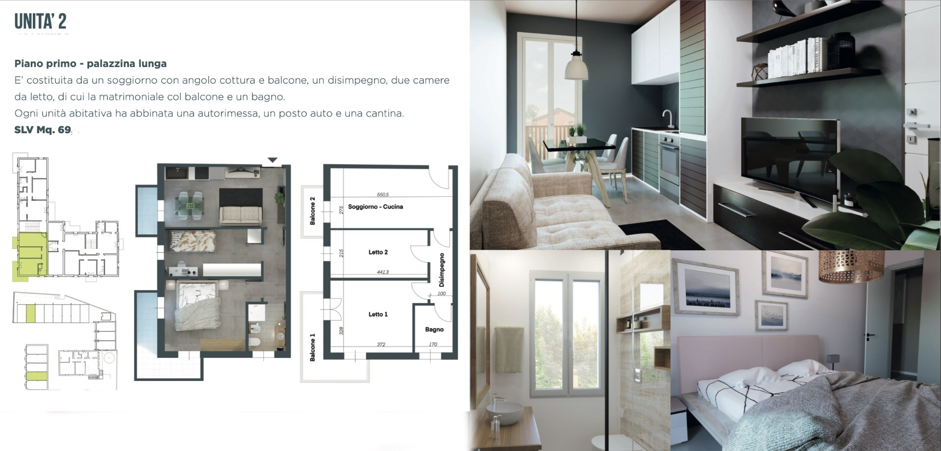 Appartamento Calderino (Amola)